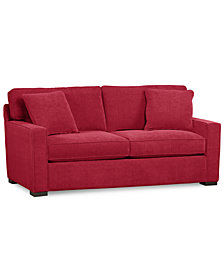 "Radley 62"" Fabric Loveseat - Custom Colors, Created for Macy's"