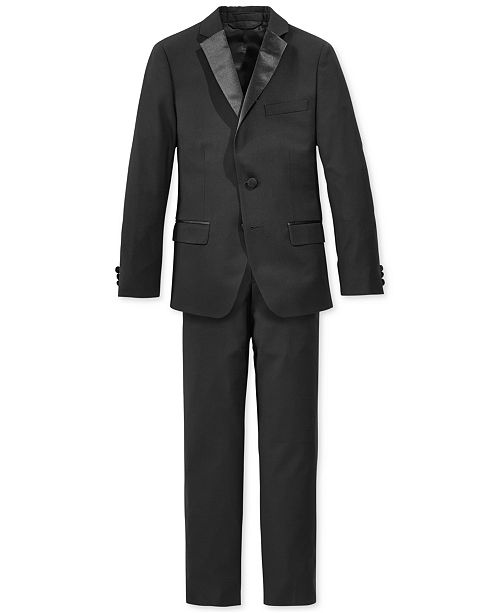 Lauren Ralph Lauren Tuxedo Jacket & Pants, Big Boys Husky