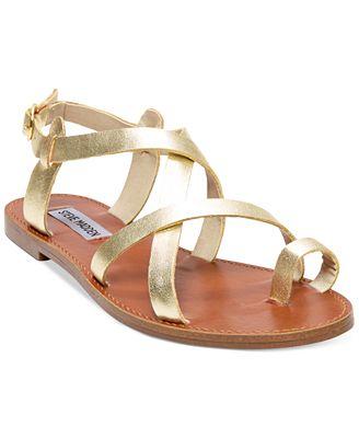 Steve Madden Women's Agathist Flat Sandals