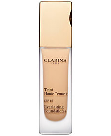 Clarins Everlasting Foundation+ SPF 15, 1.1 oz.