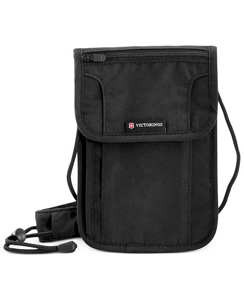 ea8e255ed4ff Victorinox Swiss Army Deluxe Concealed Security Pouch with RFID Protection