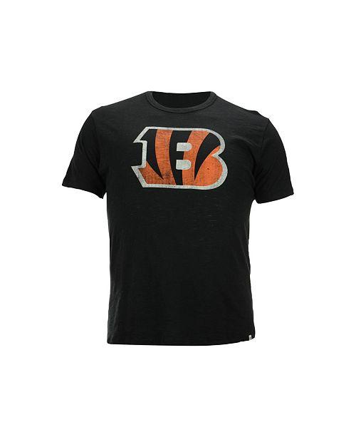 '47 Brand Men's Cincinnati Bengals Logo Scrum T-Shirt