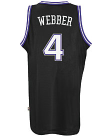 adidas Men's Chris Webber Sacramento Kings Swingman Jersey