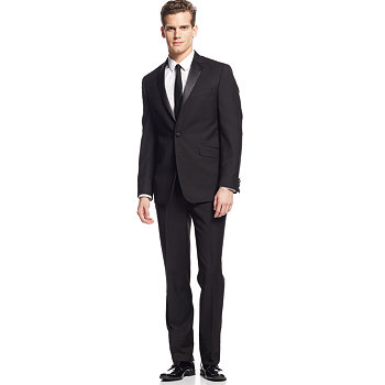Kenneth Cole Reaction Mens Slim-Fit Tuxedo