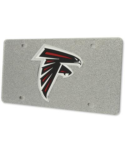Stockdale Atlanta Falcons Glitter License Plate