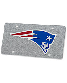 Stockdale New England Patriots Glitter License Plate