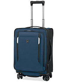 "CLOSEOUT! Victorinox Werks Traveler 5.0 20"" Carry-On Expandable Dual Caster Spinner Suitcase"