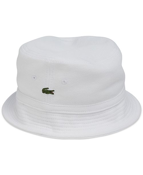 41649b2f72 Lacoste Pique Bucket Hat   Reviews - Hats