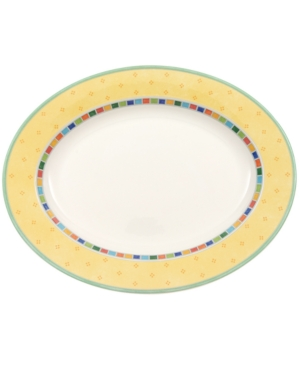 Villeroy  Boch Dinnerware Twist Alea Oval Platter 13 14
