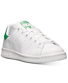Big Boys' Originals Stan Smith Casual Sneakers from Finish Line