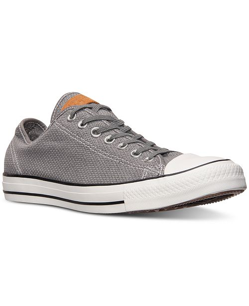 9616d67b55bb ... Converse Men s Chuck Taylor All Star Woven Casual Sneakers from Finish  ...
