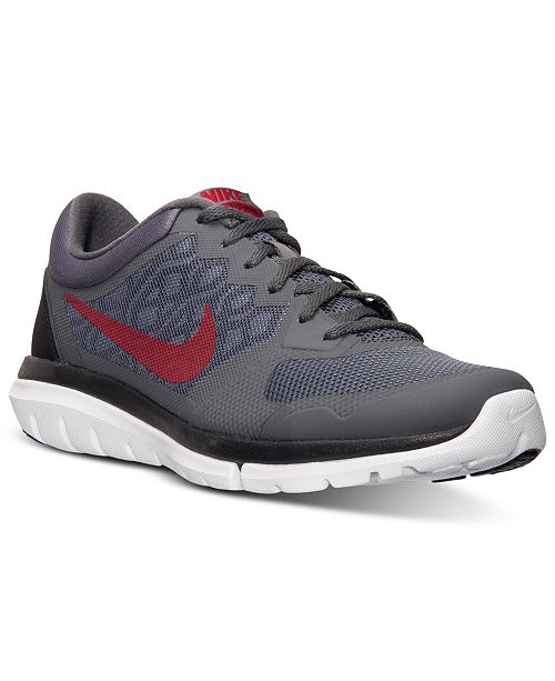 12bf8f5140dae Nike Men s Flex Run 2015 Running Sneakers from Finish Line   Reviews ...