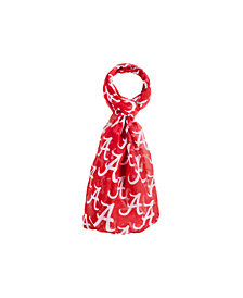 Forever Collectibles Alabama Crimson Tide All Over Logo Infinity Scarf