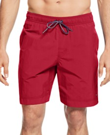 "Tommy Hilfiger Big and Tall Men's 9.5"" Tommy Swim Trunks"