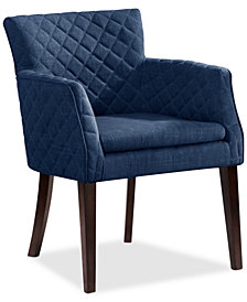 Kinsey Fabric Chair, Quick Ship