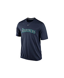 Nike Men's Seattle Mariners Legend Wordmark T-Shirt