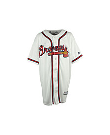 Majestic Kids' Atlanta Braves Replica Jersey, Big Boys (8-20)