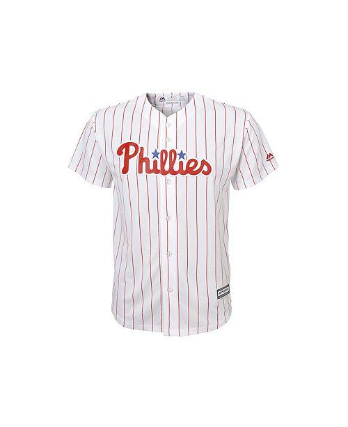 477b6de9 Majestic Philadelphia Phillies Replica Jersey, Big Boys & Reviews ...