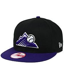 New Era Colorado Rockies 2-Tone Link 9FIFTY Snapback Cap