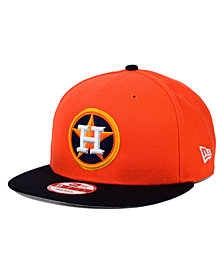 New Era Houston Astros 2 Tone Link 9FIFTY Snapback Cap