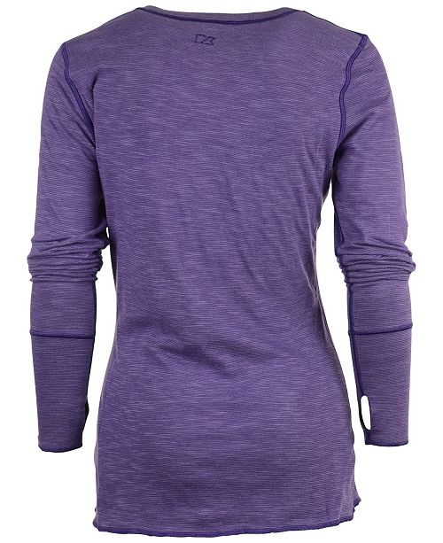Cutter   Buck Women s Long-Sleeve Minnesota Vikings Reversible ... 524a7f7917