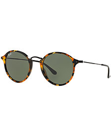 Ray-Ban Sunglasses, RB2447 ROUND