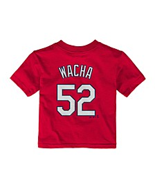St. Louis Cardinals MLB Infant Official Player T-Shirt Michael Wacha