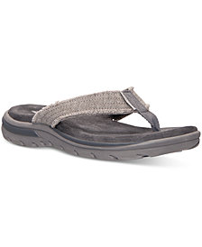 Skechers Men's Relaxed Fit: Supreme - Bosnia Sandals from Finish Line