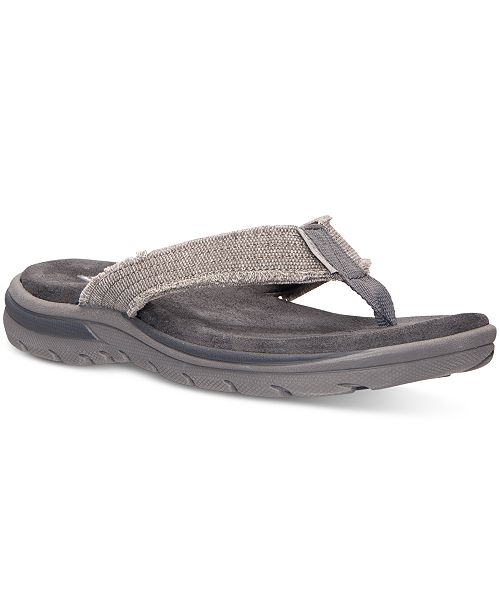 9dd52752a1b2 ... Skechers Men s Relaxed Fit  Supreme - Bosnia Sandals from Finish ...