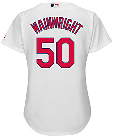 Majestic Women's Adam Wainwright St. Louis Cardinals Cool Base Jersey