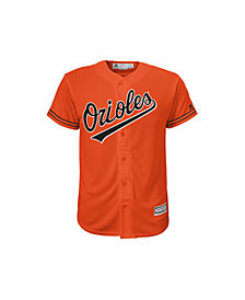 Majestic Kids' Baltimore Orioles Replica Jersey, Big Boys (8-20)
