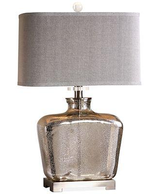 Uttermost Molinara Mercury Glass Table Lamp Lighting Lamps