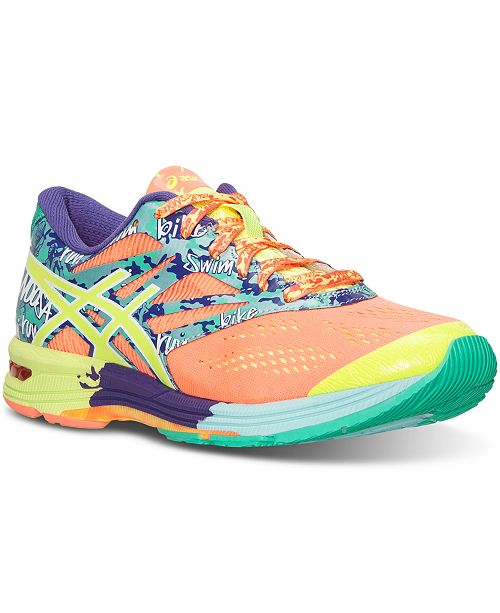 From 10 Gel Tri Line Asics Women's Noosa Finish Running Sneakers wf6faq1