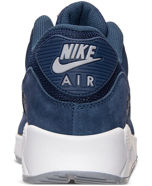 half off 4fd1e 1d7e0 ... Nike Men s Air Max 90 Essential Running Sneakers from Finish ...