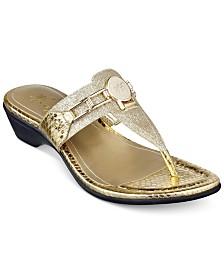 Marc Fisher Amina Thong Sandals