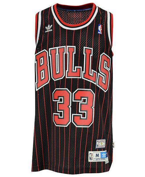 new product 737a5 75f55 Men's Scottie Pippen Chicago Bulls Swingman Jersey