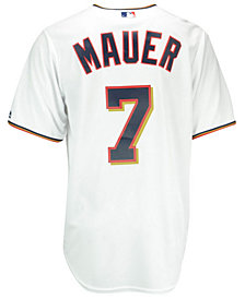 Majestic Men's Joe Mauer Minnesota Twins Replica Jersey
