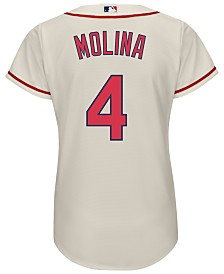 Majestic Women's Yadier Molina St. Louis Cardinals Cool Base Jersey