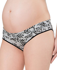 Motherhood Maternity Fold-Over Panties, 3-Pack