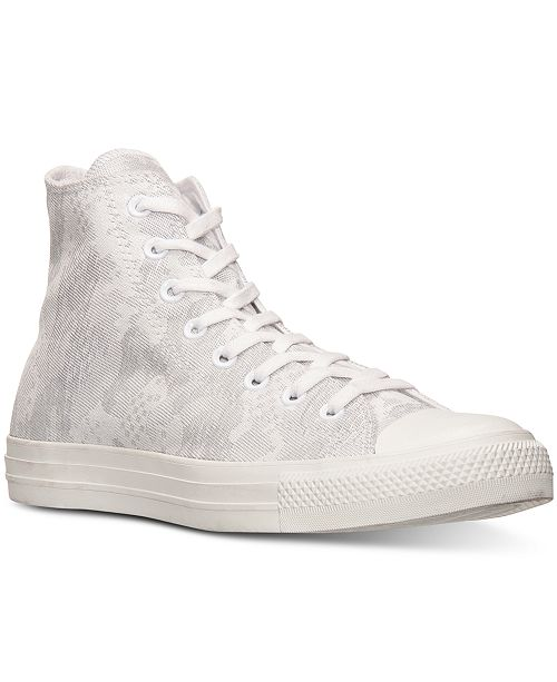 fce46e1c0dc9 Converse. Men s Chuck Taylor High Camo Jacquard Casual Sneakers from Finish  Line. Be the first to Write a Review. main image ...