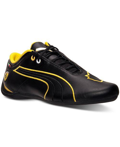 f05ac91d2ec Puma Men's Future Cat M1 SF Ferrari Casual Sneakers from Finish Line ...