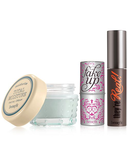 Benefit Cosmetics Choose a FREE 3-Pc. Gift with $50 Benefit Cosmetics purchase