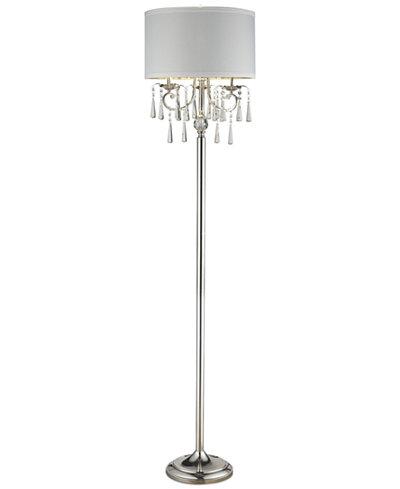 Dale Tiffany Crystal Floor Lamp