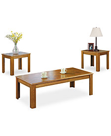 Willis 3 Piece Occasional Table Set, Quick Ship