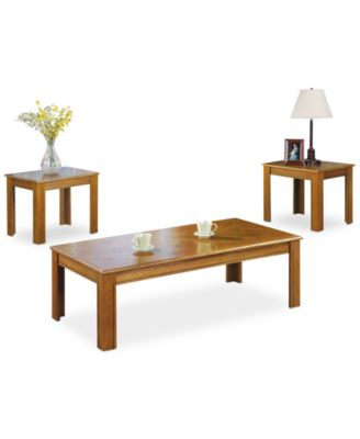 willis 3 piece occasional table set quick ship