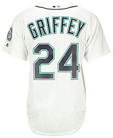 Majestic Ken Griffey Jr. Seattle Mariners Cooperstown Replica Jersey