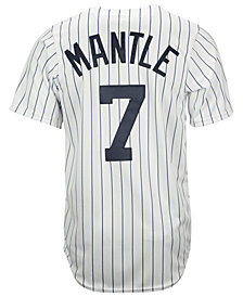 Majestic Mickey Mantle New York Yankees Cooperstown Replica Jersey
