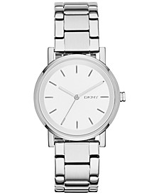 Women's Soho Stainless Steel Bracelet Watch 34mm, Created for Macy's