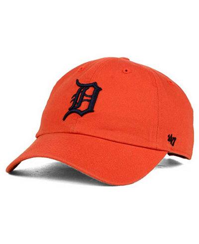 '47 Brand Detroit Tigers Core Clean Up Cap