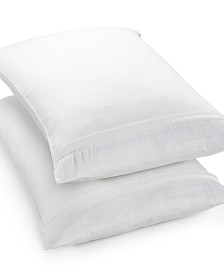 Martha Stewart Essentials 2-Pack Standard/Queen Pillow Protectors, Created for Macy's